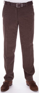 MENS Classic Wool Cord Donker Bruin