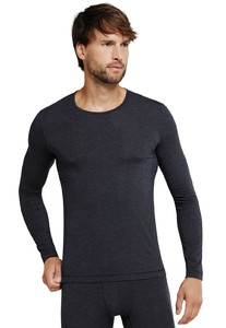 Schiesser Personal Fit Shirt Round Neck Midnight Navy