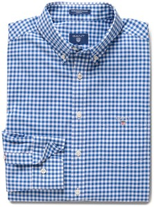 Gant The Broadcloth Gingham Yale Blue