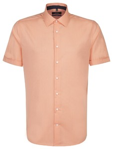 Seidensticker Business Short Sleeve Oranje