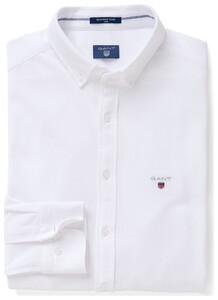 Gant Tech Prep Piqué Shirt Wit