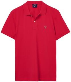 Gant Gant Piqué Polo Bright Red