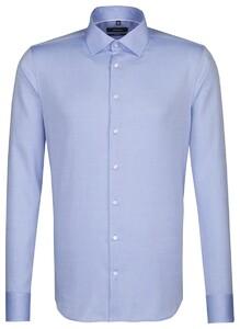 Seidensticker Uni Business Kent Pastel Blauw