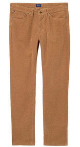 Gant Slim Rib Jeans Roasted Walnut