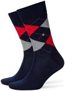 Burlington King Socks Marine