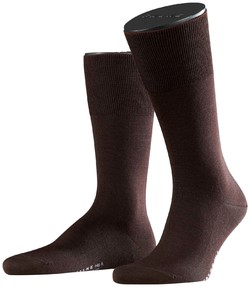 Falke No. 6 Socks Finest Merino and Silk Brown