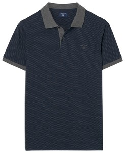 Gant Fantasy Structure Dot Navy