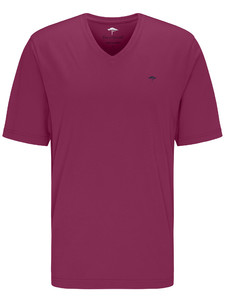 Fynch-Hatton V-Neck T-Shirt Krokus