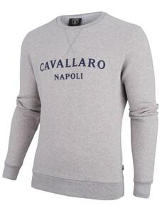 Cavallaro Napoli Morki Sweat Grijs