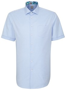 Jacques Britt Short Sleeve Como Blauw