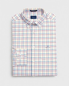 Gant The Beefy Oxford Check Red
