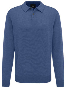 Fynch-Hatton Polo Long Sleeve Marine