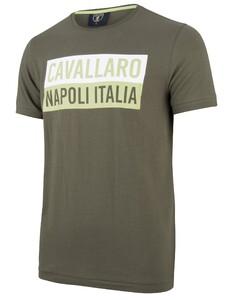 Cavallaro Napoli Augusto Tee Donker Groen