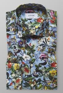 Eton Floral Fantasy Pastel Blauw