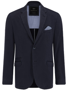 Fynch-Hatton Blazer Cotton Stretch Navy