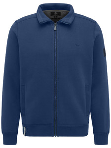 Fynch-Hatton Cardigan Zip Sporty Sweat Midnight