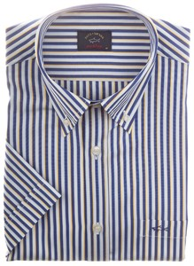 Paul & Shark Two-Tone Shark Stripe Blauw