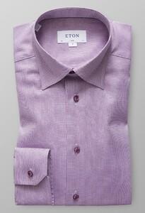 Eton Melange Oxford Warm Pink