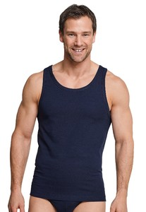 Schiesser Urban Original Singlet Dark Evening Blue