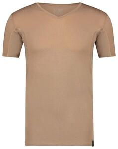 RJ Bodywear Sweatproof Stockholm V-Hals T-Shirt Zand