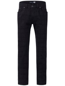 Gardeur Wool-Look Bill Fine Structure 5-Pocket Antraciet