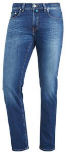 Pierre Cardin Lyon Jeans Tapered Futureflex Vintage Used Blauw Melange