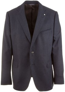 Gant The Herringbone Blazer Navy
