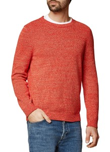 Maerz Pullover Cotton R-Neck Bright Coral