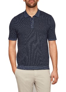 Maerz Pullover Polo Navy