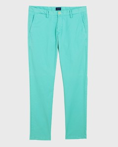 Gant Slim Summer Chino Pool Green