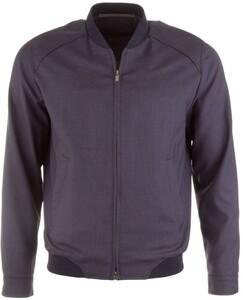 EDUARD DRESSLER Anderson Wool Summer Jacket Navy