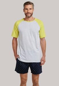 Schiesser Mix & Relax T-Shirt Grijs