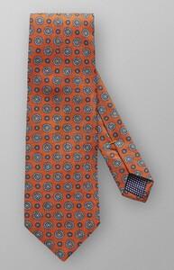Eton Silk Circle Detail Oranje