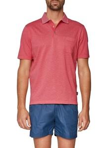 Maerz Uni Contrast Collar Hot Pink