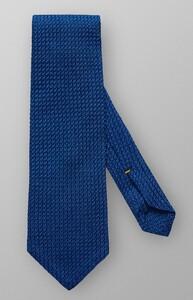 Eton Grenadine Silk Midden Blauw