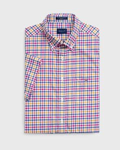 Gant The Broadcloth 3 Color Gingham Poseidon Blue