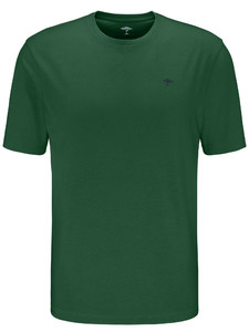Fynch-Hatton O-Neck T-Shirt Palmtree