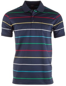 Paul & Shark Shark Colored Fine Stripe Multicolor