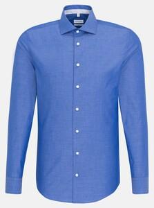 Seidensticker Spread Kent Uni Sky Blue Melange