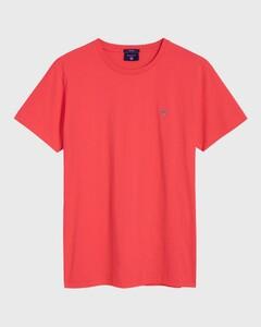 Gant Gant The Original T-Shirt Watermeloen Rood