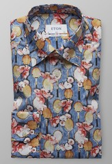 Eton Tennis Racket Floral Diep Blauw