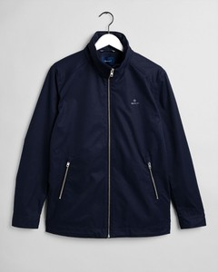 Gant The Light Mid Length Jacket Avond Blauw