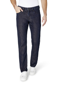 Gardeur Modern Cotton Linen Jeans Bill-2 Dark Denim Blue