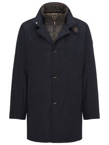 Fynch-Hatton Car Coat Navy
