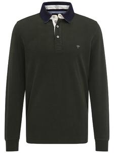 Fynch-Hatton Rugby Plain Shirt Clover