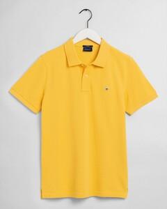 Gant Gant Piqué Polo Mimosa Yellow
