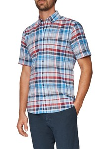 Maerz Button Down Short Sleeve Light Sky