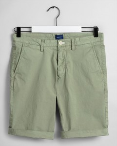 Gant Sunfaded Shorts Oil Green