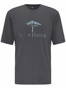 Fynch-Hatton Logo T-Shirt Asphalt