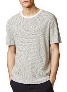 Maerz Striped Single Jersey Off White